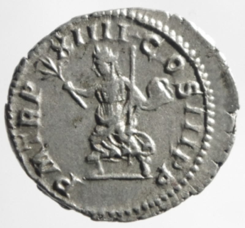 reverse: caracalla denario