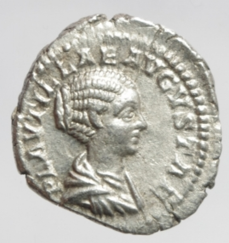 obverse: plautilla denario