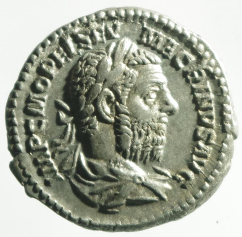 obverse: macrino denario