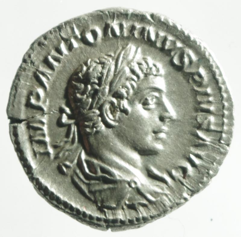 obverse: eliogabalo denario