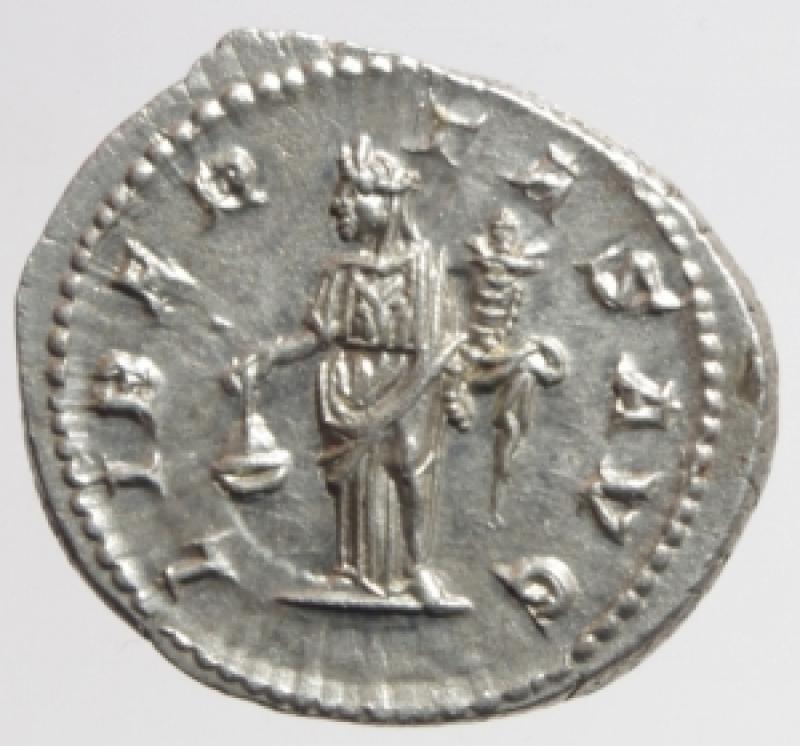 reverse: alessandro severo denario