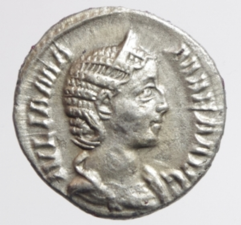 obverse: giulia mamaea denario