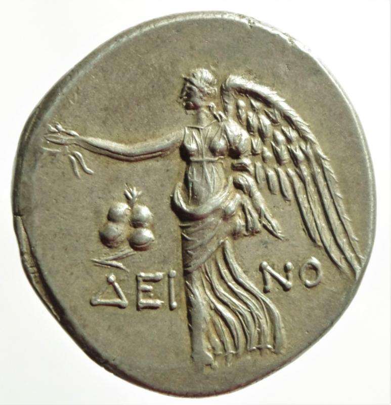 reverse: side tetradracma