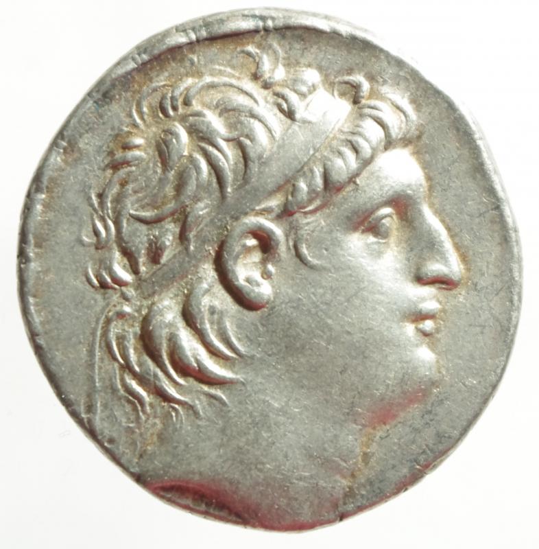 obverse: Antioco VII tetradracma