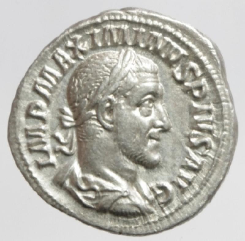 obverse: massimino denario