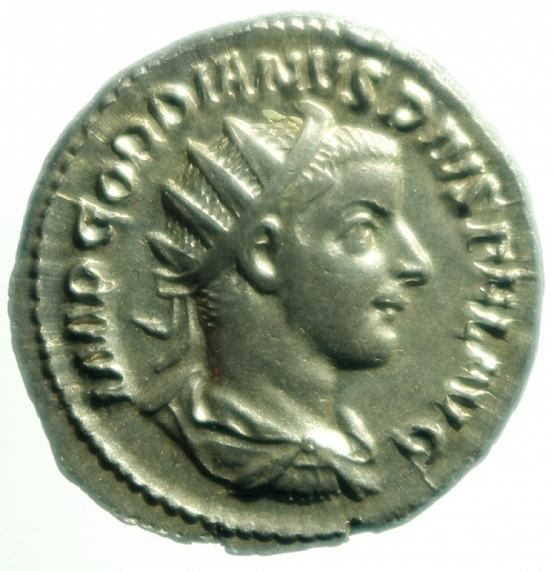 obverse: gordiano III antoniniano