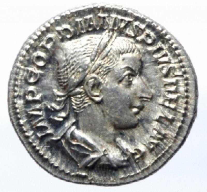obverse: denario gordiano