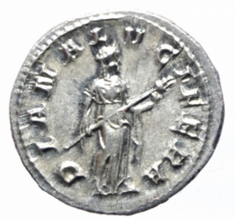 reverse: denario gordiano