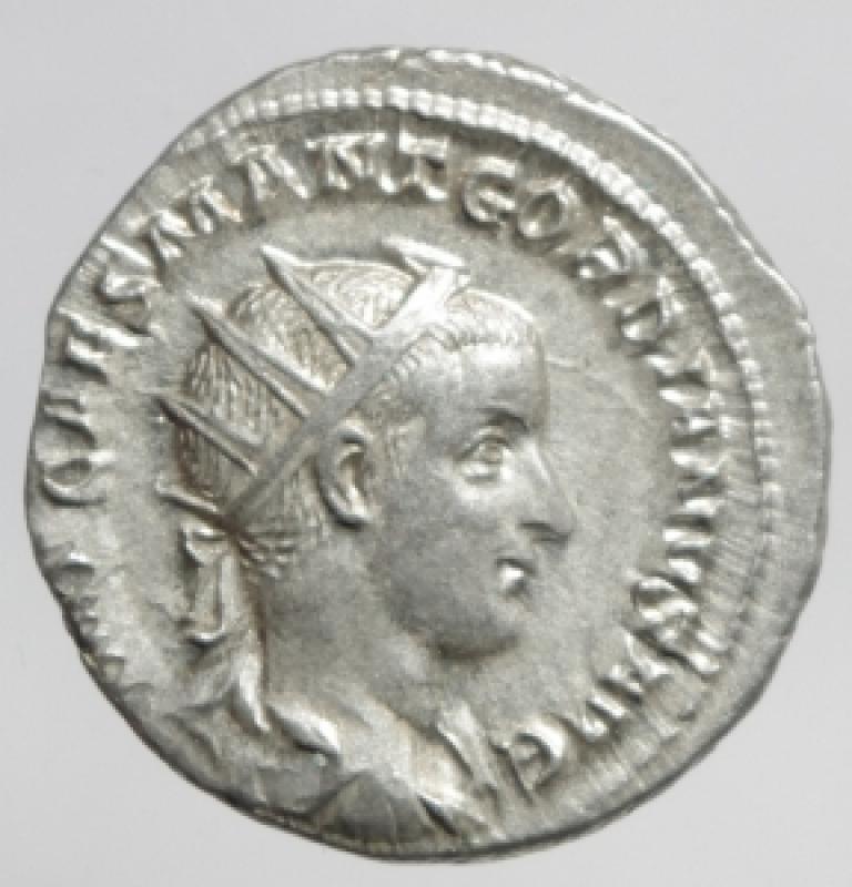 obverse: antoniniano gordiano III