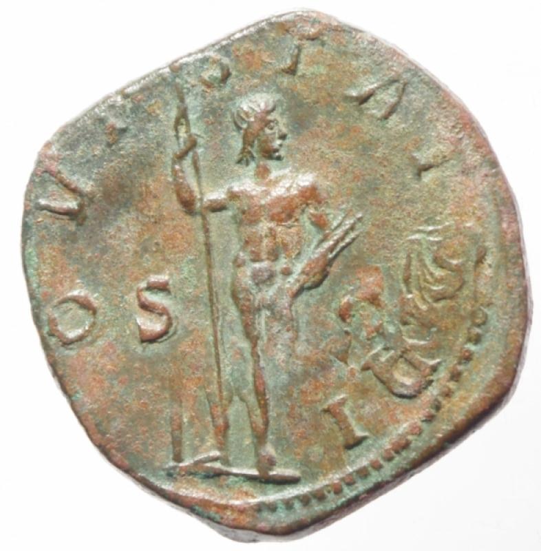 reverse: gordiano III sesterzio