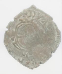 obverse: Zecche Italiane. Genova. Dogi Biennali. 1528-1797. 20 denari 1645. NC. BB.
