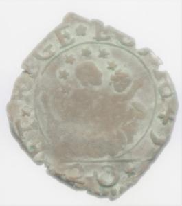 reverse: Zecche Italiane. Genova. Dogi Biennali. 1528-1797. 20 denari 1645. NC. BB.