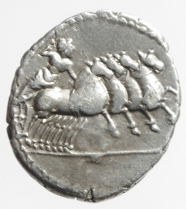 reverse: denario anonimo