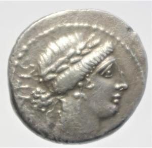 obverse: acilia denario