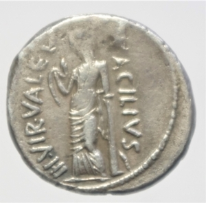 reverse: acilia denario