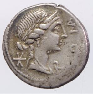 obverse: aemilia denario