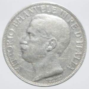 obverse: 2 lire 1911