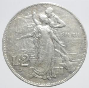 reverse: 2 lire 1911