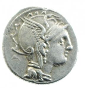 obverse: claudia denario
