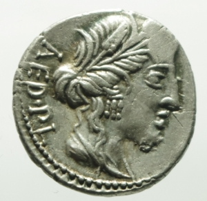 obverse: critonia denario