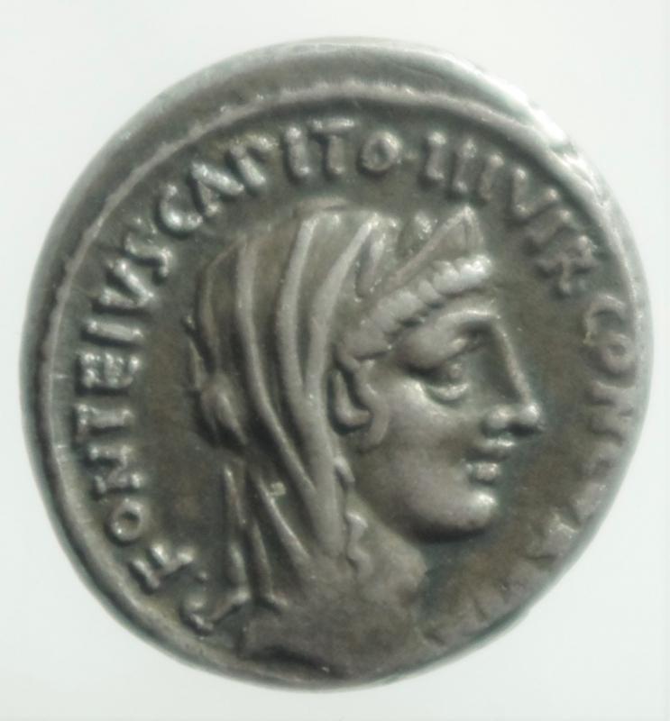 obverse: fonteia denario