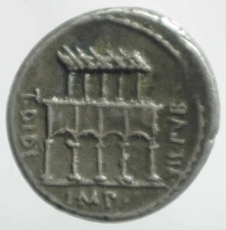 reverse: fonteia denario