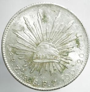 reverse: 8 reales