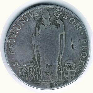 obverse: BOLOGNA - Pio VI A. III - Scudo da 100 Bolognini