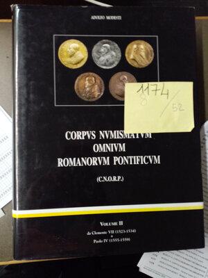 obverse: MODESTI A. CORPVS MUNISMATVM OMNIVM ROMANORVM Vol.2