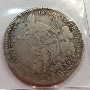 obverse: BOLOGNA - Pio VI - 50 Baiocchi 1778