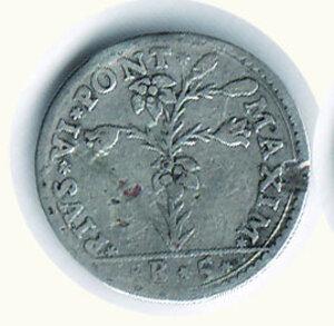 obverse: BOLOGNA - Pio VI - Carlino 1778.