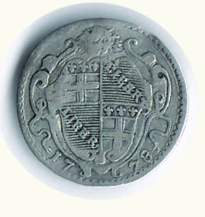reverse: BOLOGNA - Pio VI - Carlino 1778.