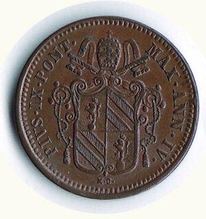 obverse: BOLOGNA - Pio IX ( 1846-1878) - ½ Baiocco 1850.