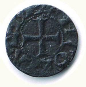 reverse: ANCONA - Denaro primitivo sec XIII - Biaggi 33.