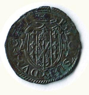 reverse: CASTRO - P. Luigi Farnese (1545-1547) - Quattrino