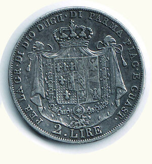 reverse: PARMA - Maria Luigia - 2 Lire 1815.