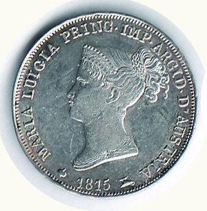obverse: PARMA - Maria Luigia - Lira 1815 - Fondi lucenti a specchio.