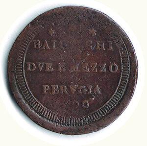 reverse: PERUGIA - Pio VI - 2 1/2 Baiocchi 1796