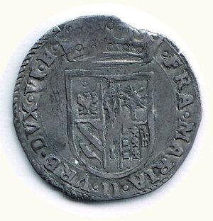 reverse: PESARO - Francesco Maria Sforza (1574-1624) - Paolo