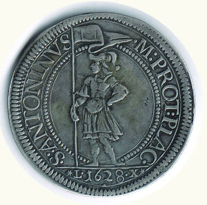 reverse: PIACENZA - Odoardo Farnese (1622-1646) - Scudo