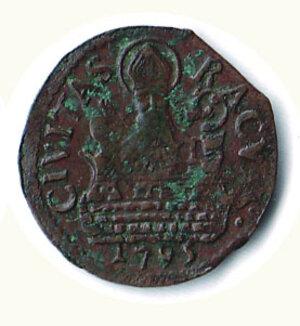 reverse: RAGUSA - Repubblica (1449-1806) - 1 Soldo 1762.