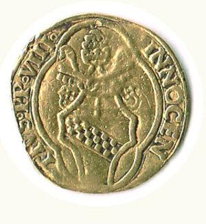reverse: ROMA - Innocenzo VIII (1484-1492) - Fiorino di camera