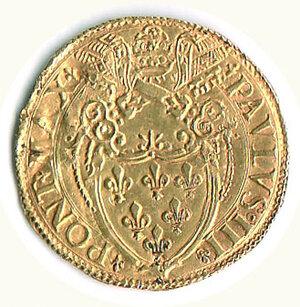 reverse: ROMA - Paolo III (1534-1539) - Scudo d'Oro