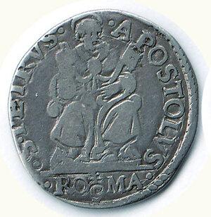 obverse: ROMA - Pio IV (Giovanni Angelo Medici) (1559-1565) - Testone SD.