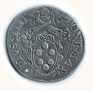 reverse: ROMA - Pio IV (Giovanni Angelo Medici) (1559-1565) - Testone SD.