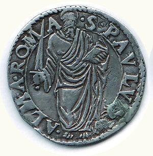 obverse: ROMA - Paolo IV (1555-1559) - Giulio.