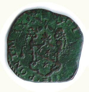 obverse: ROMA - Clemente VIII (1592-1605) - Quattrino pel giubileo del 1600; D/ Stemma; R/ Porta santa con scritta M.D.C.  richiesta 25