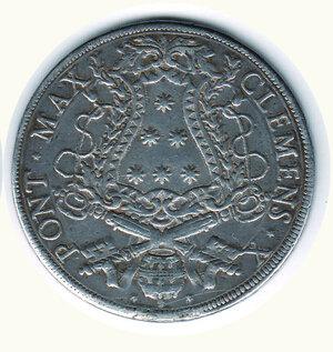 reverse: ROMA - Clemente X (1670-1676) - Piastra