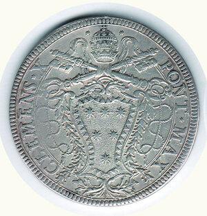 obverse: Roma Clemente X - Piastra 1675