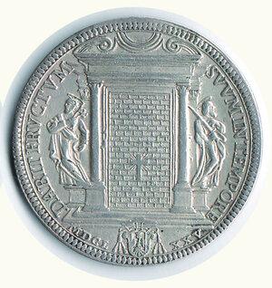 reverse: Roma Clemente X - Piastra 1675